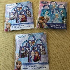 12 Frozen party treat  bags.